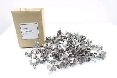 Lot 100 New S075 Cable Clamps D555951