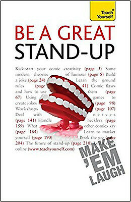 Be a Great Stand-Up: Teach Yourself, New, Murray, Logan Book