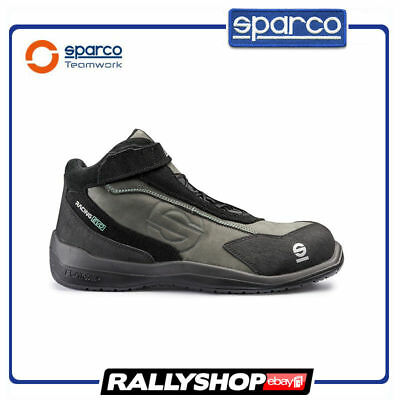 SPARCO RACING EVO shoes Racing Boots Race Sport Black Rally Mechanics S3 SRC