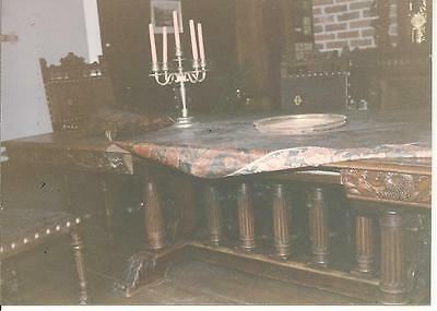 Renaissance Revival Dining room table and chairs