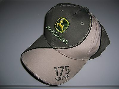New JOHN DEERE Baseball Cap Hat * 175 Years * 2012 Omaha Dealer Conference