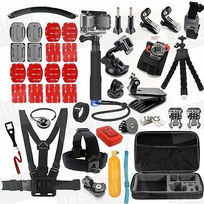 Monopod Accessories Kit for Gopro Hero 5 4 Hero3+ For Xiaomi yi 4K SJCAM EKEN H9
