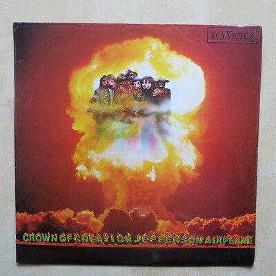 JEFFERSON AIRPLANE Crown Of Creation UK 1st press mono vinyl LP 1968