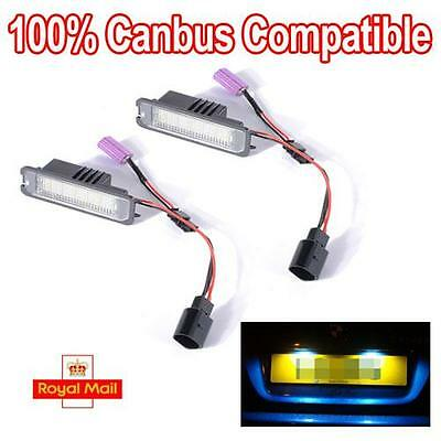 LED Number License Plate Light Lamp fits VW Volkswagen GOLF MK6 100% Canbus