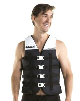 Gul Medium Impact Vest Jacket Buoyancy Aid 4 Buckle Jetski Waterski Grey / Red