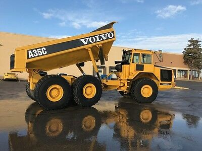 Volvo A35C Articulated Haul Truck