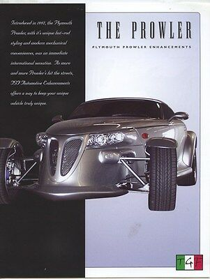 1997 Plymouth Prowler TGF Accessories Brochure my8344