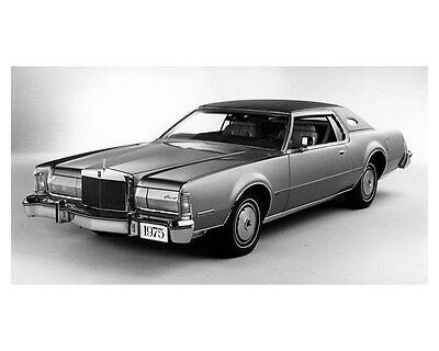 1975 Lincoln Continental Mark IV ORIGINAL Factory Photo oub2868
