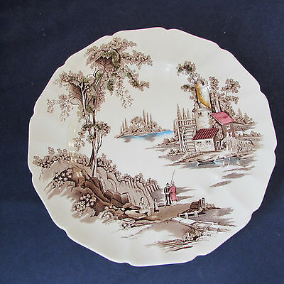 SET OF TWELVE - Johnson Bros THE OLD MILL Service Plates