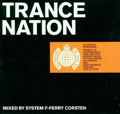 Various Artists : Trance Nation CD