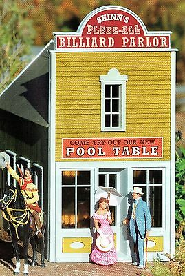 PIKO RIVER CITY BILLIARD PARLOR  G Scale Preassembled Building #62715 New