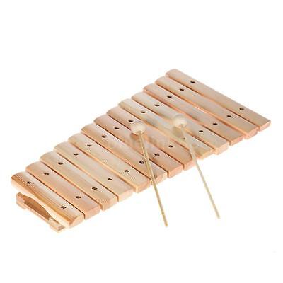 Musical Xylophone Piano Wooden Instrument for Children Kids Baby Music Toys E4R7