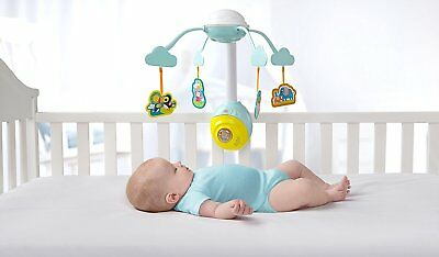 Bright Starts Baby Mobile Cot Toy Melody Music Soothing Sleep Clip Detachable