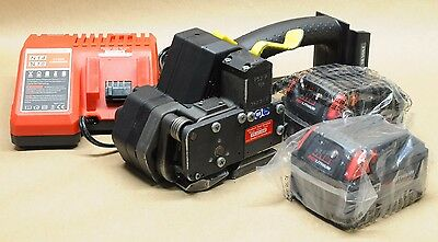 """*Reconditioned* FROMM P-327 5/8"""" 18V battery strapping tool orgapack signode"""