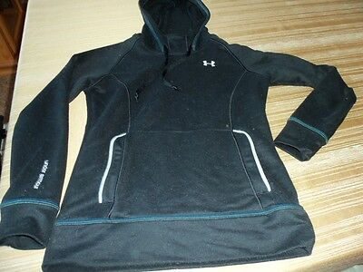 Women's Under Armour -  Black Pullover hoodie - sweatshirt -  Size Small S