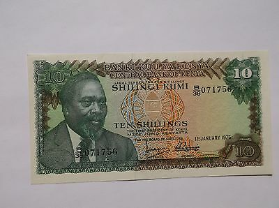 ***** 1975 Central Bank of Kenya, 10 Shillings*****