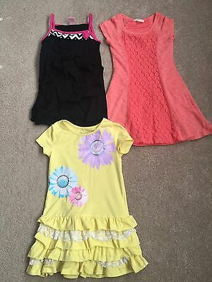 Lot Of Three Girls Size 5 Dresses Flapdoodles And Copper Key