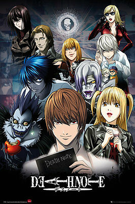DEATH NOTE - CHARACTER COLLAGE POSTER 24x36 - 160591