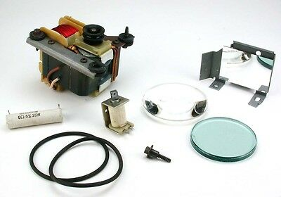 Assorted parts for Ektagraphic Slide Projector