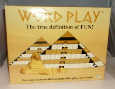 Vintage 1980 Board Game WORD PLAY by Wow Toys Inc New NIB