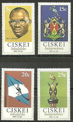 Ciskei 1981 Independence MNH