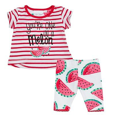 Premature Preemie Baby Girl clothes Tiny Red  T shirt  and Leggings 3-5lbs 5-8lb