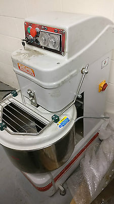 Sigma/univex Ssl50-02 70Qt Bakery Restaurant Industrial Food Dough Spiral Mixer