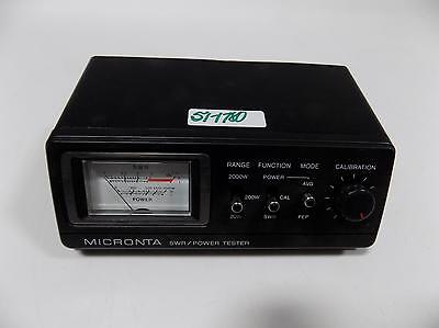 Radio Shack Micronta Swr/power Tester   21-524