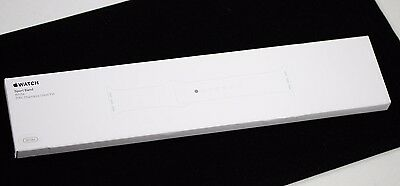 SEALED Apple Watch Sport Band 38mm White Stainless Steel Pin - MJ4E2ZM/A - New