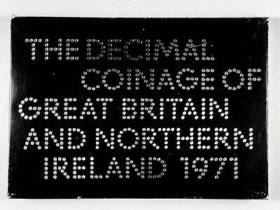 1971 Decimal Coinage of Great Britain and Northern Ireland Set.