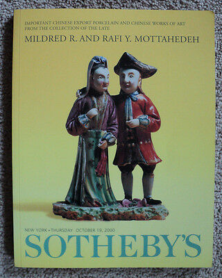 Sotheby's Sale 7520 The Mottahedeh Collection Auction Catalog October 2000
