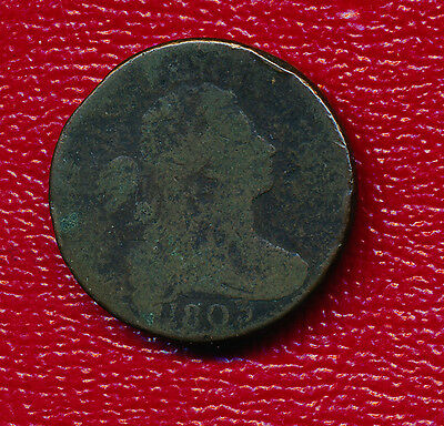 1803 Draped Bust Large Cent **nice Circulated Type Coin** Free Shipping!