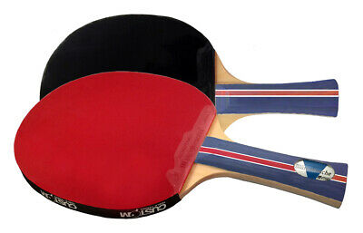 Two Blutenkirsche Elite Custom Table Tennis Bats Free Postage From UK