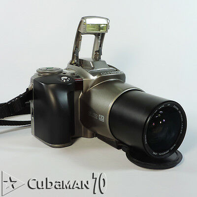 Olympus 35mm SLR Camera 4X Zoom 52mm Lens Batteries Included