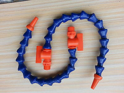 "5pcs High Quality 1/4"" Valve Coolant Hose 24'' 600mm Length for Milling"