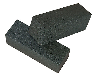 Rubbing Brick hand block 50mm x 50mm x 150mm for stone Silicon Carbide 120GRIT