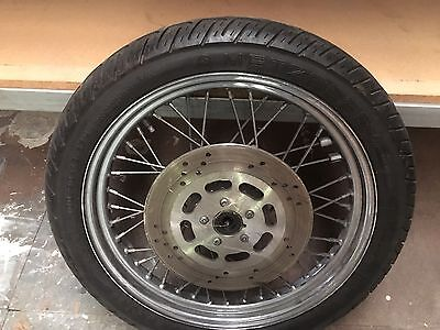 Harley Front Wheel And Tyre 19inch
