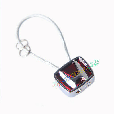 Creative Mini Steel Wire Keychain Keyring Key Holder Pendant Car Logo For HONDA