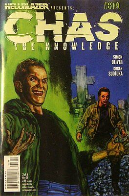 Hellblazer presents: Chas- The Knowledge #   3 Near Mint (NM) DC-Vertigo MODN AG