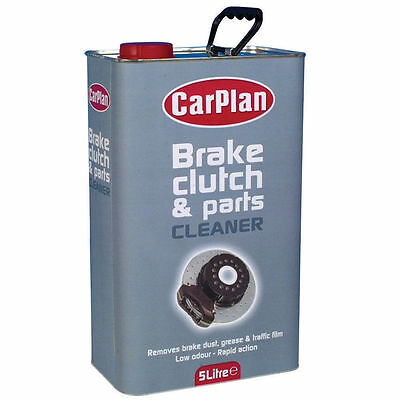 Carplan Brake And Parts Cleaner 5 Litre LEAVES NO RESIDUE BPC050 van brake