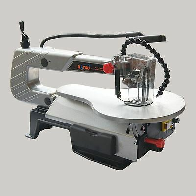 Electric Scroll Saw 120W With Air blower & LED light CE GS EMC Certified UK Plug