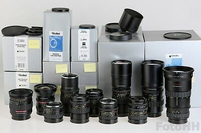 Rollei **Masterpiece** Collection Set Of 11 Rollei Lenses // Unique And Rare Set
