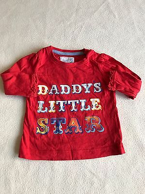Baby Girls Clothes 3-6 Months - Cute Daddy  T Shirt  Top -