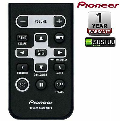 Pioneer CD R320 IR Hand Held Remote Control for Car CD Tuners