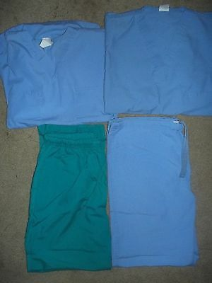 Lot Of 2 Sets Of Scrubs Size Medium Preowned - 3193