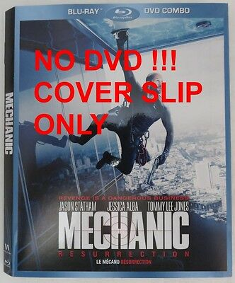 No Discs !! Mechanic Blu-Ray Cover Slip Only - No Discs !!         (Inv13197)