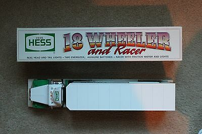 "Original Hess ""18 Wheeler and Racer"" (1992)"