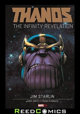 THANOS INFINITY REVELATION HARDCOVER (112 Pages) New Hardback by Jim Starlin