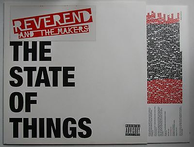 Reverend And The Makers State Of Things Rare UK 2007 LP + Inner Mint