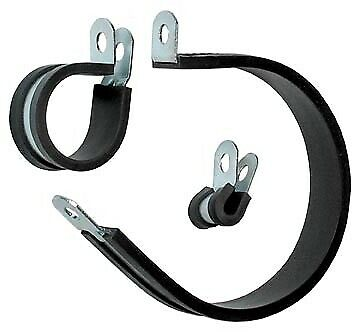 Automec Pipe & Cable Rubber Lined P Clip 15.9mm